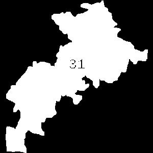 Carte Haute Garonne, Toulouse 31