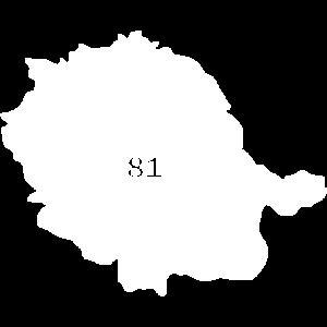 Carte Tarn, Albi 81