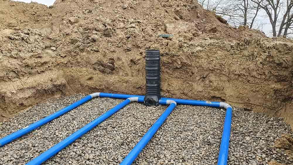 filtre sable et fosse toutes eaux